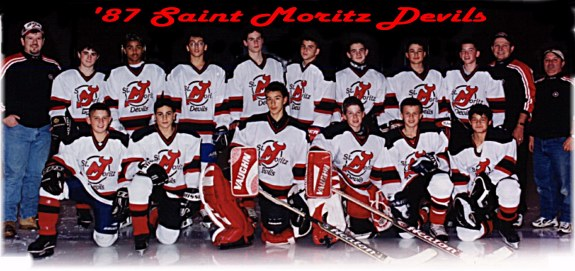 '87 Devils at Lake Placid